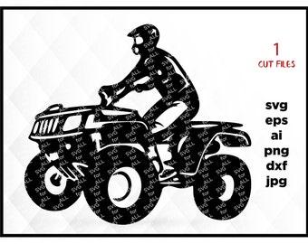 ATV SVG File,Quad SVG,Off Road svg,Razor svg-Cutting Template-Vector Clip Art for Commercial & Personal Use-Cricut,Cameo,Silhouette,Vinyl
