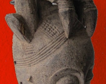 Baoule mask from Ivory-Coast.