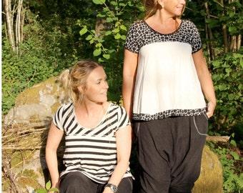Blus/Jumper Lill Paper Pattern Ladieswear Pappersmönster Damkläder sewing patterns