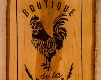 Boutique De La Ferma Woodburn Sign
