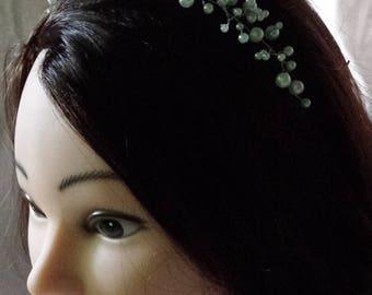 Bridal hair vine, pearl hair vine, bridal headpiece, pearl headpiece, wedding hair jewelry