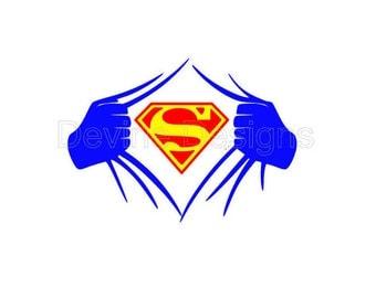 Superman SVG FILE
