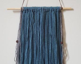 Oceanic Boho Yarn Tassel Hanging