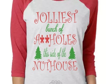 Jolliest Bunch of A**holes this side of the nut house SVG, Jolliest SVG, Griswold SVG