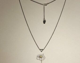 Heart Minimal-heart chain choker necklace