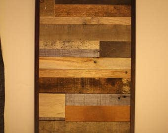 Reclaimed Wood Decorative Art