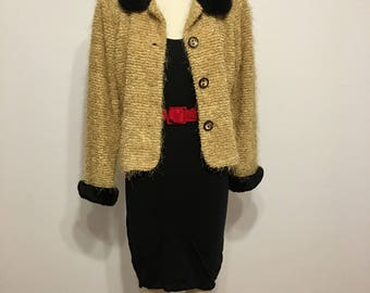 80s/90s Boucle sweater