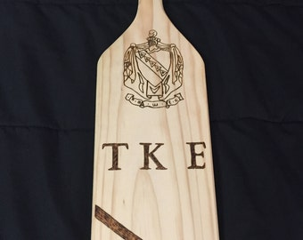 Customized College Fraternity Paddle