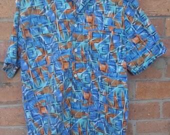 Funky bluewave summer shirt