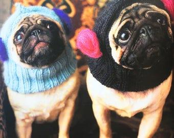 Dog's Balaclava - All Sizes, Knitting Pattern