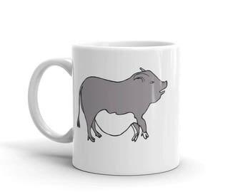 Potbelly Pig Coffee Mug Gift Micro Mini Cup Potbellied Pigs Animal Teacup