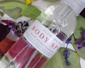 Body Spray - Alcohol Free - Choose Your Scent - Body Spray Mist - Perfume Spray