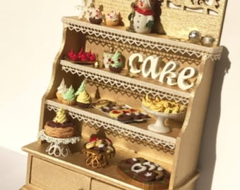 Festive Cupboard  filled with delicious treats