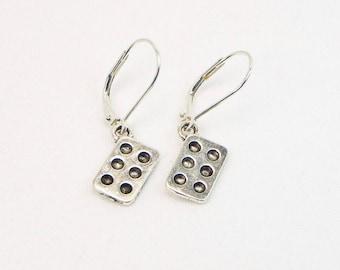 Muffin Pan Earrings - Cook Earrings - Chef Earrings  - Kitchen Gift - Bakers Charm - Dangle Earrings - Gift For Her