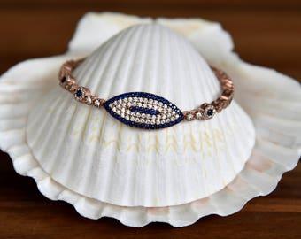 Gold Plated CZ Bracelet