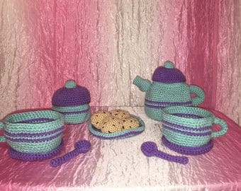 Adorable Amigurumi Tea Set