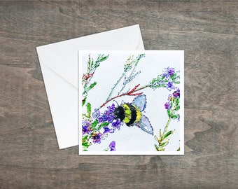 Bumble Bee - Art Card