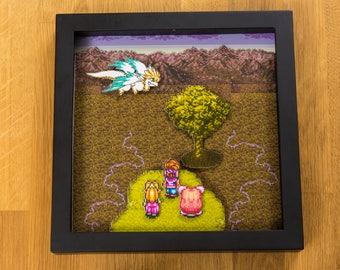 Secret of Mana (SNES) Shadowbox - The Mana Tree