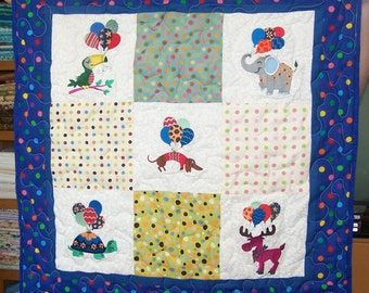 Balloon Animals Quilt