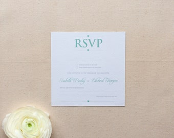 EMILY // Wedding Stationery // RSVP