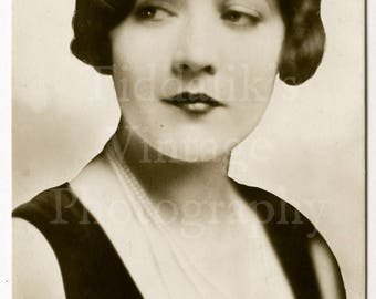 Marie Prevost Flapper Girl Movie Stage Actress Silent Film RPPC Postcard Unposted Unused 1920s