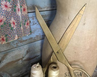 Large Vintage Taylor Store Display Scissors
