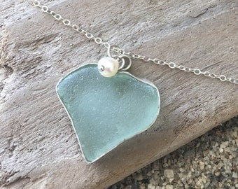 Sea Glass Necklace #24