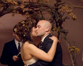 Branch wedding arbor, woodland wedding arbor, rustic wedding arbor, woodland wedding ceremony, rustic wedding, woodland wedding aisle decor