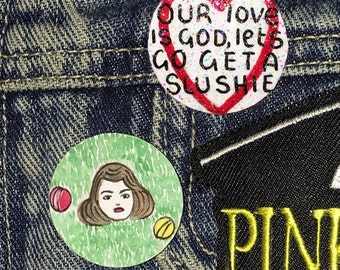 Heathers Pin Badge Set