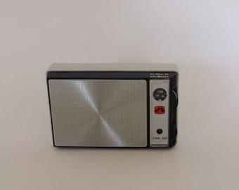 "Radio vintage radio transistor radio station, ""his master's voice"" brand, fathers day gift"
