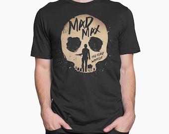 Alternative mad max road warrior movie t-shirt Men-Women-Kids 100% cotton single jersey short sleeved geek retro movie