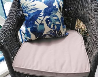 Outdoor Cushion (INNER INCLUDED) - Blue Jungle