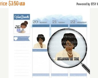 On Sale Maxine Reclaiming my Time Stickers, Quote Stickers, Auntie Maxine