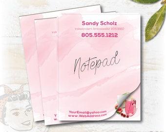 plexus notepad, plexus swag, plexus notebook, Printed paper, pink drink