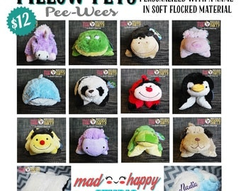 Personalized Mini Pillow Pets