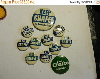 Summer Sale 11 vintage Keep Chafee Campaign Button