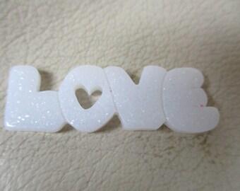 Love writing themed resin needleminder  magnet