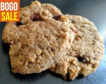 Low Carb High Protein Sea Salt Caramel Oatmeal Cookies (available in Paleo) - Buy 1 dozen Get 1/2 dozen free - ends 6/18