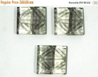 90% SALE Fluorite Pendent Set Cabochon Hand Carved  150Ct (24x24x5 mm) Natural  Gemstone - NS-6616