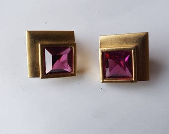Vintage YSL earrings
