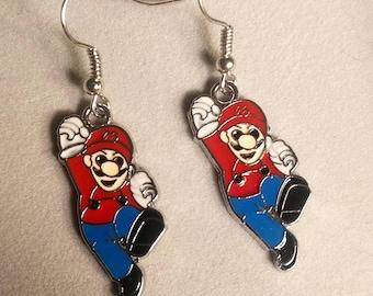 Super Mario Earrings - Nintendo Earrings