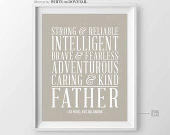 Fathers Day Gift for Dad Gift for Birthday Gift for Dad Personalized Gift for Dads Birthday Gift for Father from Kids for Father