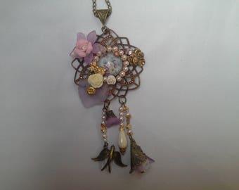 romantic shabby style pendant