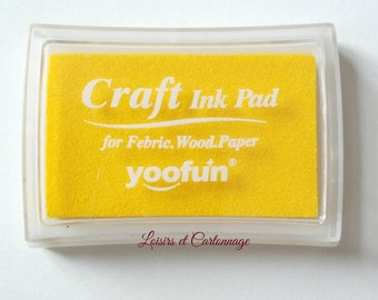 ink yellow scrapbooking