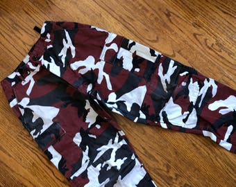 Red Camo Pants