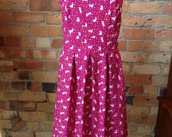 Madeline Style Dress with pockets Size 16