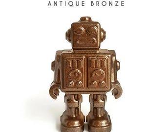 SUMMER SALE Choose Your Color Robot Knob