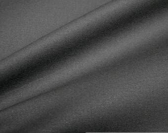 Fabric pure cotton canvas blck light water resistant sailcloth