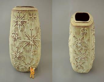 Vintage floor vase / Scheurich / 263 46 / Decor Kosmos | West German Pottery | 60s