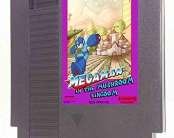 Megaman in the Mushroom Kingdom